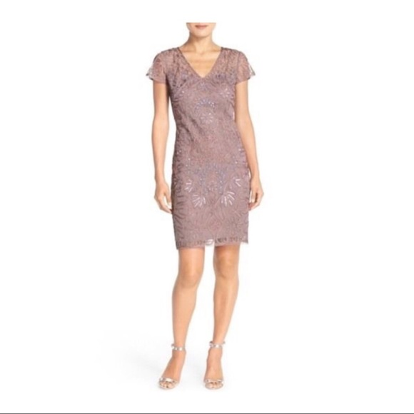 JS Collections Dresses & Skirts - JS Collections Embellished Soutache Sheath Dress